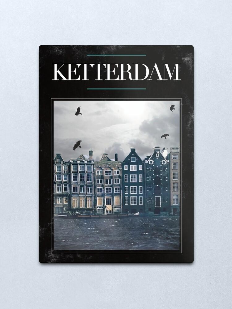 Alternate view of Ketterdam Metal Print