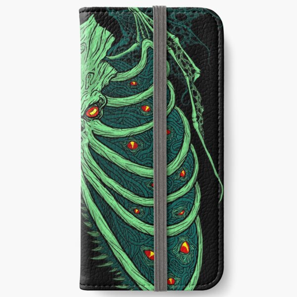 Ribs of the Old God iPhone Wallet