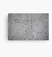 concrete wall    Canvas Print