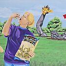 """Mural - """"The Awakening"""" by AnnaAsche"""