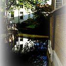 House behind the St. John church in Gouda. by hanslittel