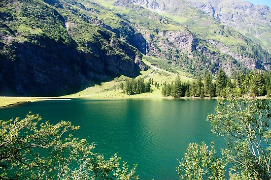 Austria, Tyrol, Hintersee Lake and Landscape by PhotoStock-Isra