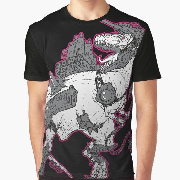 Cyber-Saurs: Tyrannozaurus Graphic T-Shirt