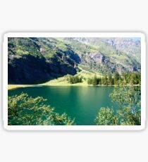 Austria, Tyrol, Hintersee Lake and Landscape Sticker