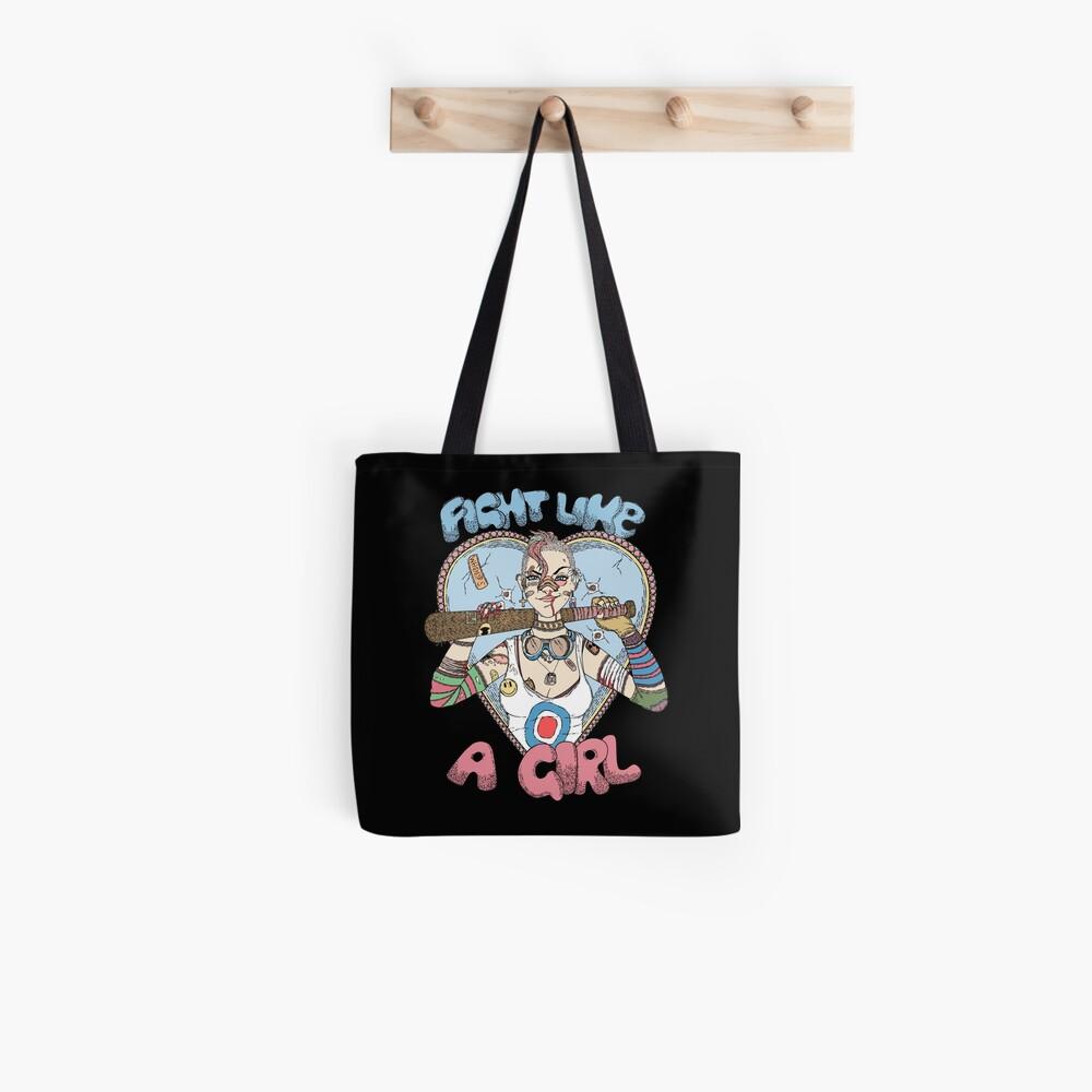 Fight Like A Girl - Fight Like A Tank Girl (Tank Girl) Tote Bag