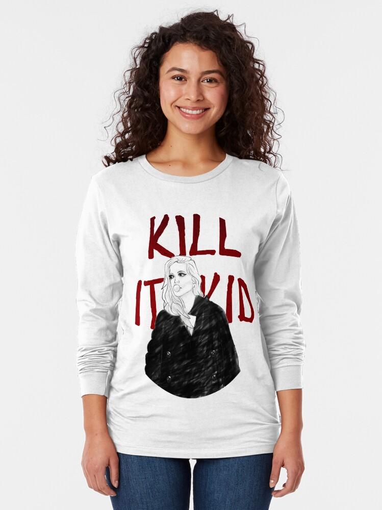 Alternate view of Kill It Kid Long Sleeve T-Shirt