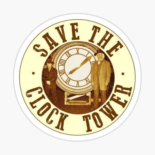Sauver la tour de l'horloge Sticker