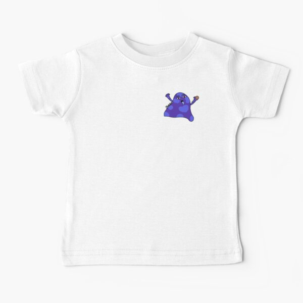 Globby The Cute Hungry Monster Baby T-Shirt