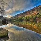 Glendalough Upper Lake by jigsf