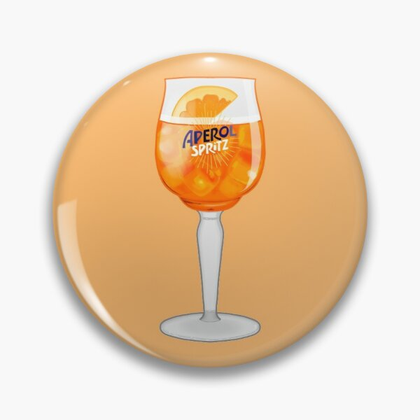 Aperol Spritz in a Glass Pin