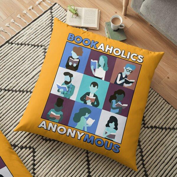 BookAholics Floor Pillow