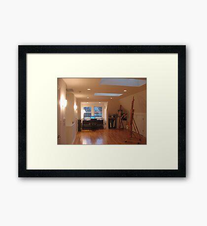 Studio looking North Framed Print