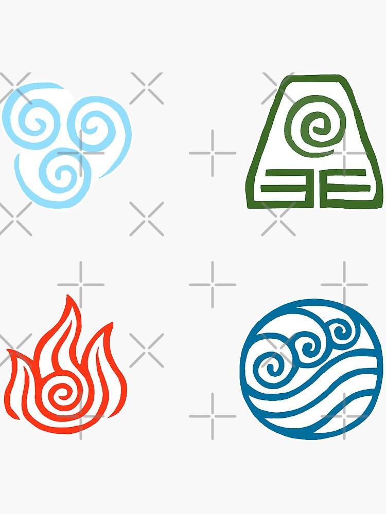 The Avatar Elements by lazy-john