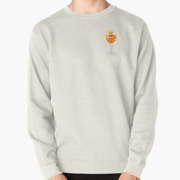 Aperol Spritz in a Glass Pullover Sweatshirt