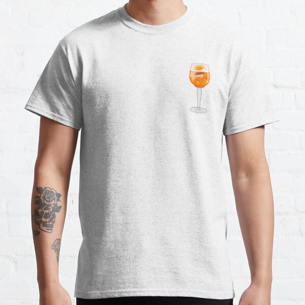 Aperol Spritz in a Glass Classic T-Shirt