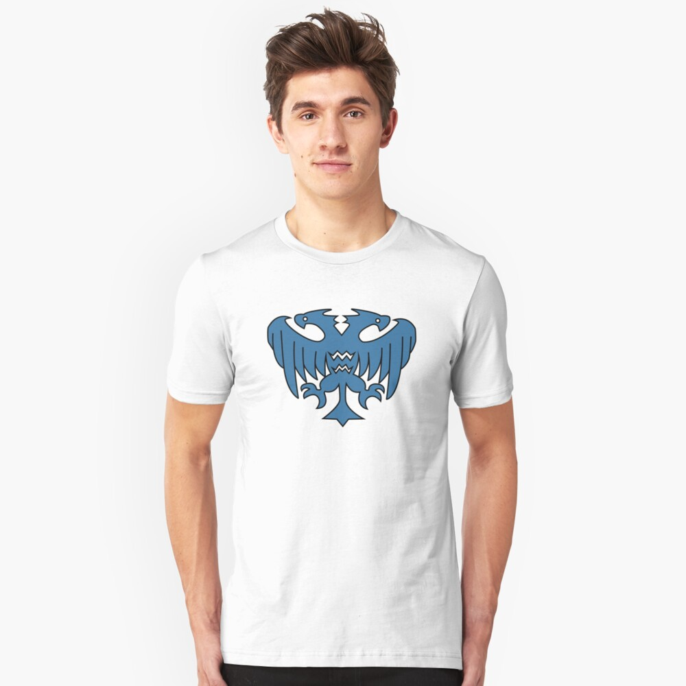 Rune-Midgarts Coat of Arms (blue version) Unisex T-Shirt