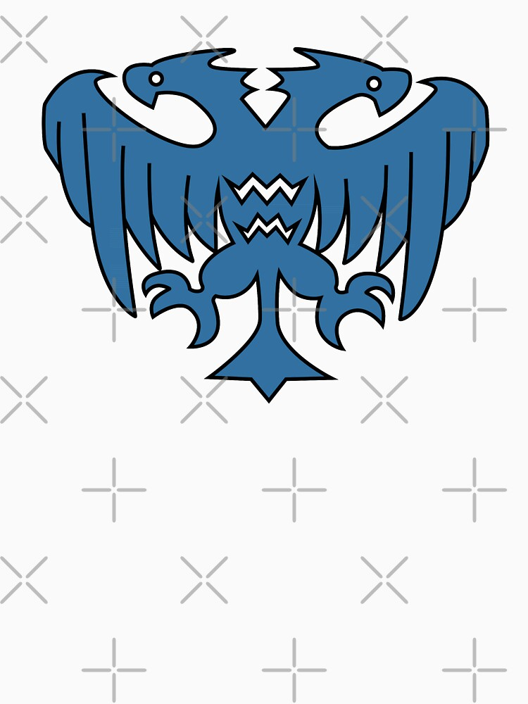 Rune-Midgarts Coat of Arms (blue version) by ZeroRaptor