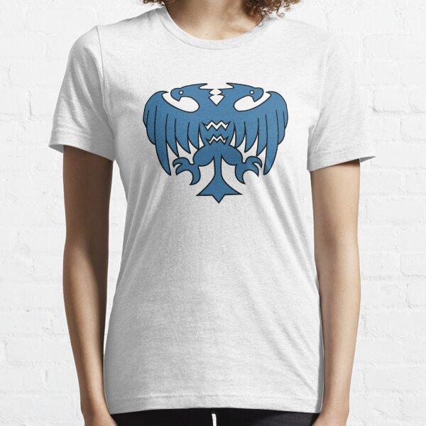 Rune-Midgarts Coat of Arms (blue version) Essential T-Shirt