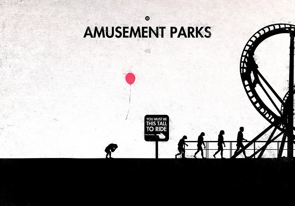 99 Steps of Progress - Amusement parks by maentis