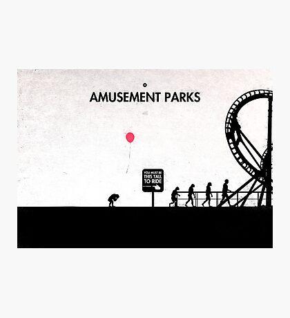 99 Steps of Progress - Amusement parks Photographic Print