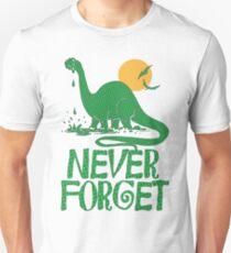 Never Forget Dinosaur Unisex T-Shirt