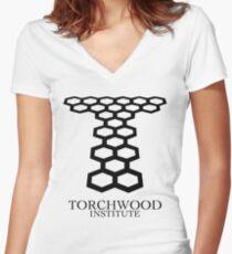 Torchwood Women's Fitted V-Neck T-Shirt