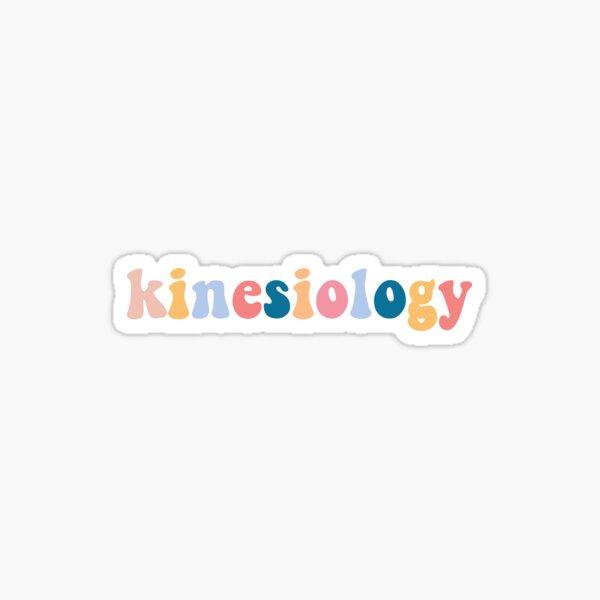 kinesiologia Pegatina