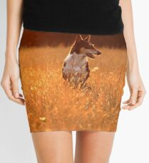 Golden Lara Mini Skirt