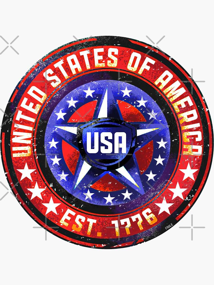 USA Round Star by magichammer