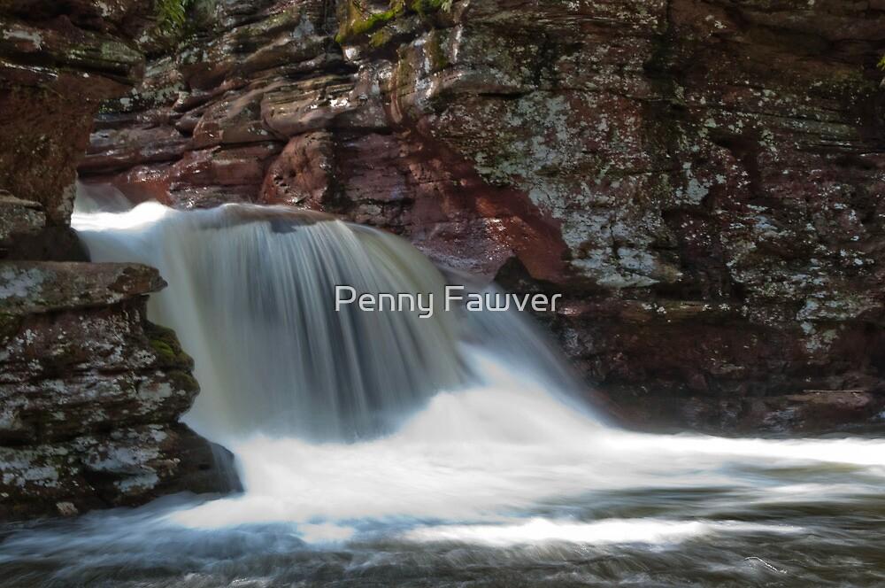 silky fountain by Penny Rinker