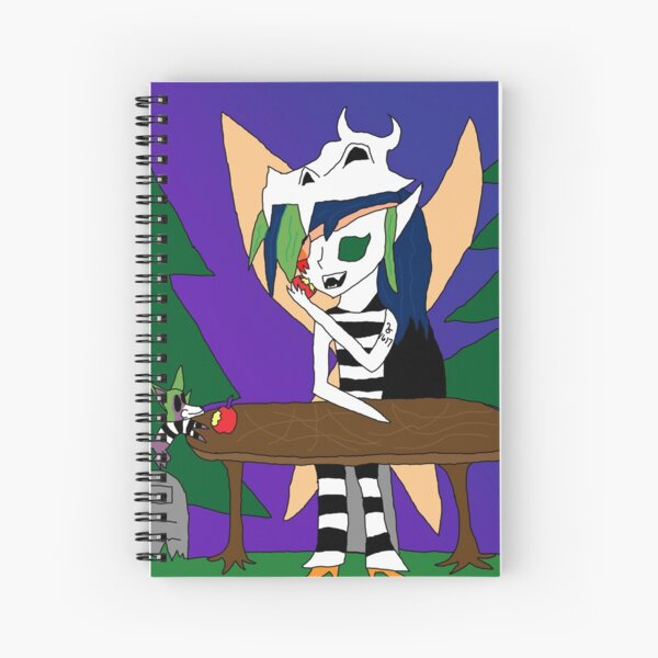Celine and Robbie picnic  Spiral Notebook