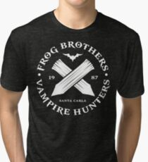 The Lost Boys - Frog Brothers Bros Vampire Hunters Tri-blend T-Shirt