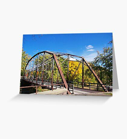 Cherry Rock Bridge Greeting Card