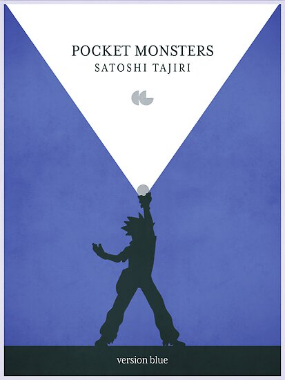 Pocket Monsters - Version Blue by gallantdesigns