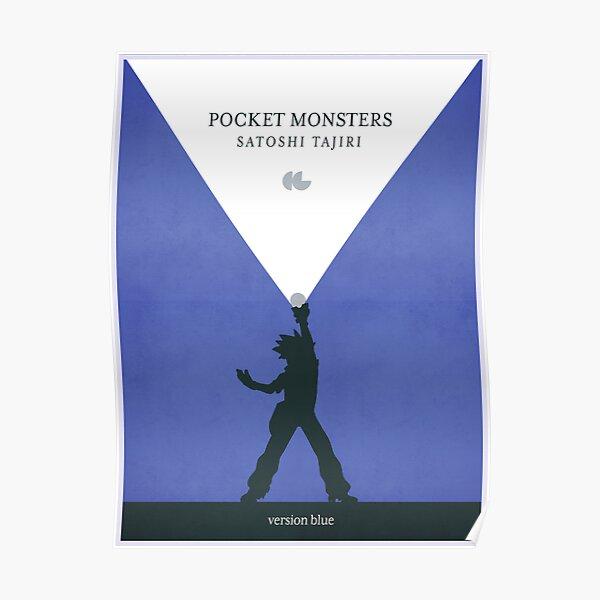 Pocket Monsters - Version Blue Poster