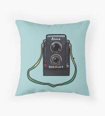 The Ansco Camera Throw Pillow