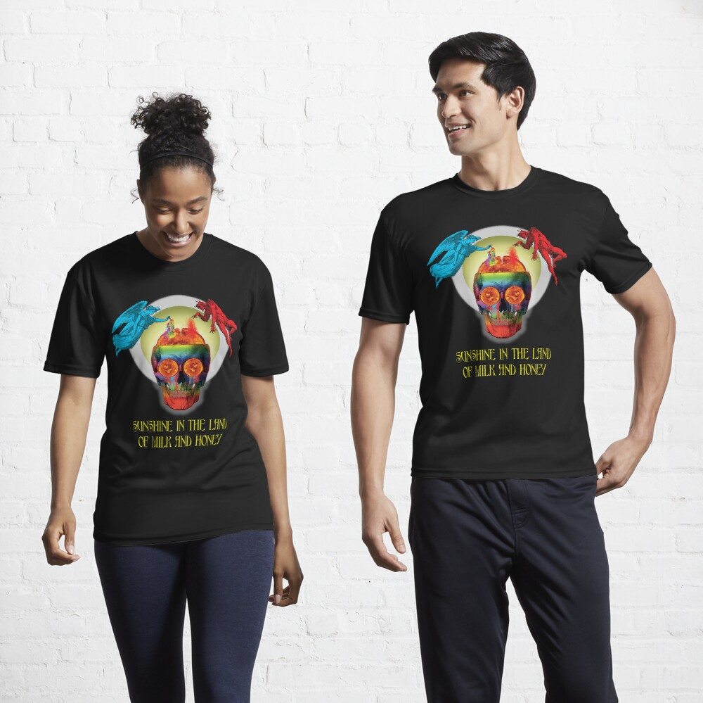 Sunshine In The Land Of Milk And Honey Active T-Shirt