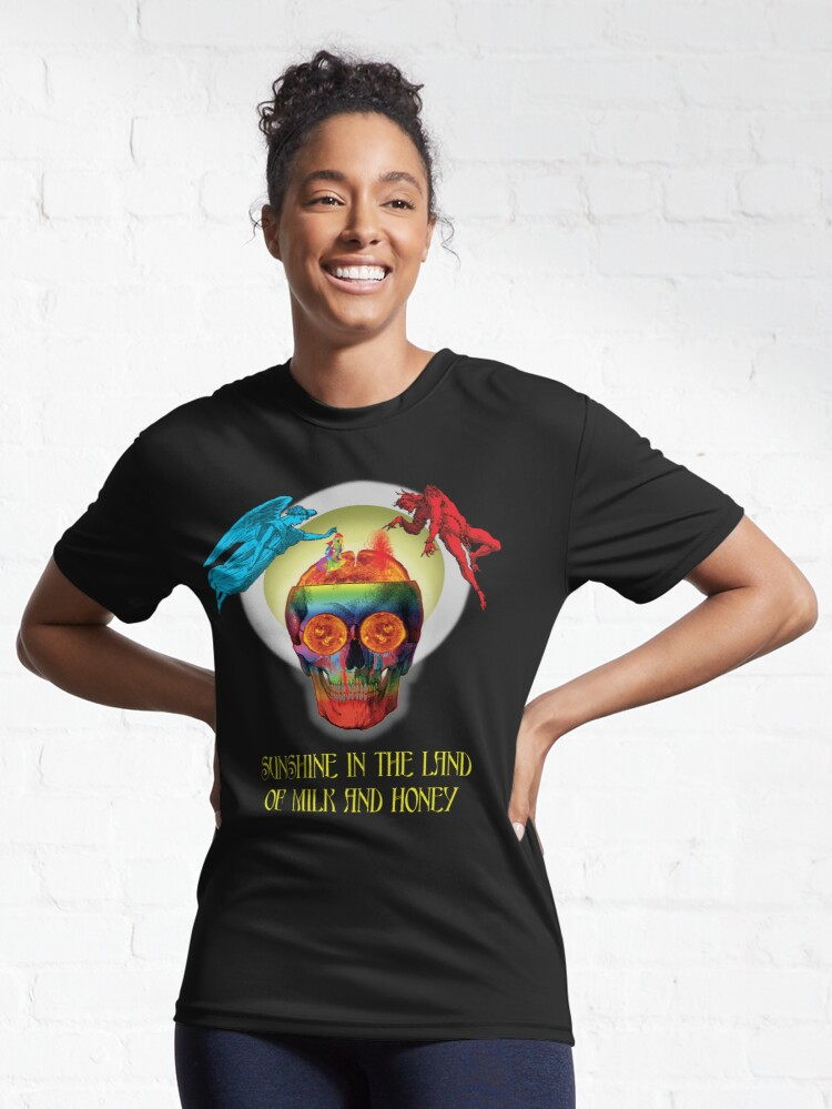 Alternate view of Sunshine In The Land Of Milk And Honey Active T-Shirt