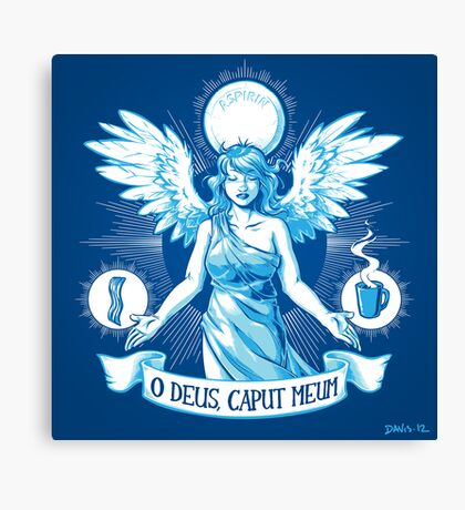 The Angel of Hangovers Canvas Print