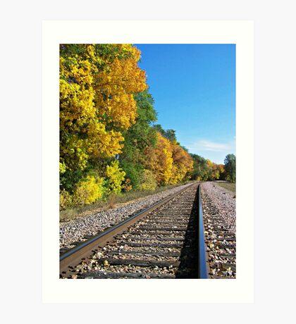 Scenic Railway Art Print