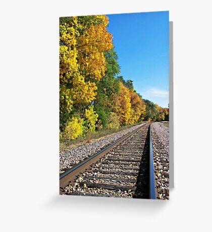 Scenic Railway Greeting Card