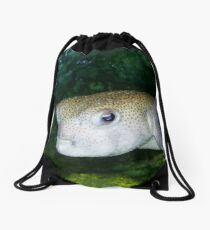 Pout Pout Fish Drawstring Bag