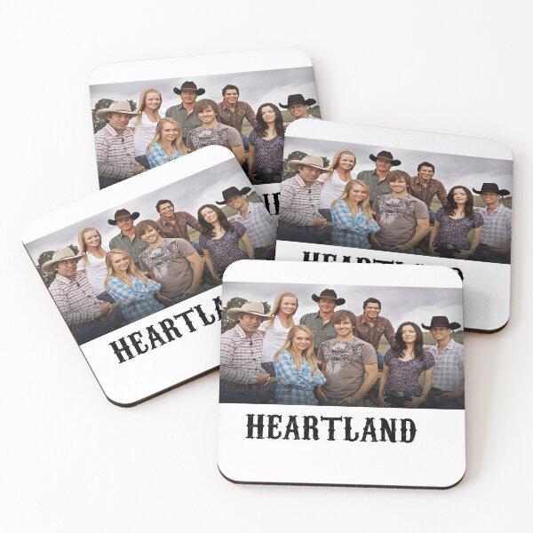 HEARTLAND ~SHOW Coasters (Set of 4)