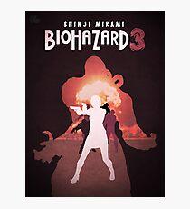 Biohazard 3 Photographic Print