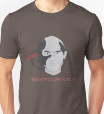 Resistance was Futile - Picard, Locutus of Borg T-Shirt