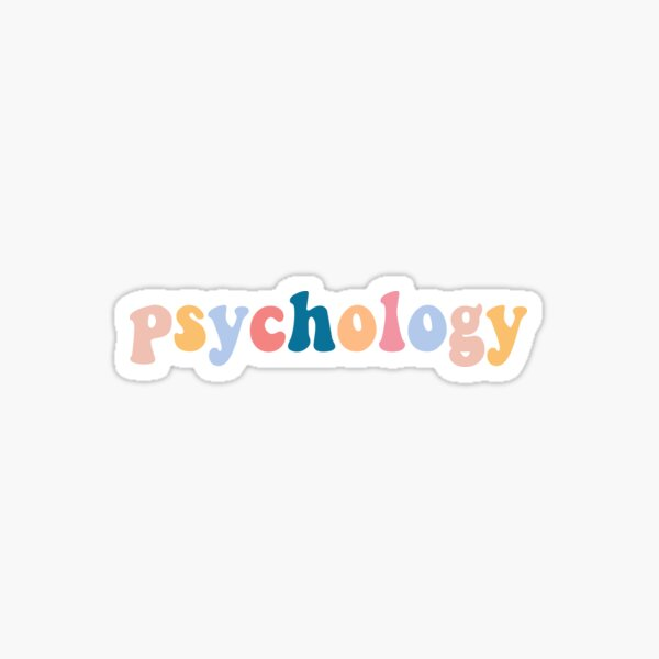 psychology Sticker