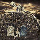 Sneaky Skeleton by Maria Dryfhout