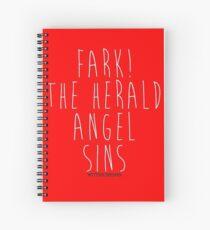 Hark! The Herald Angel Sings! Spiral Notebook