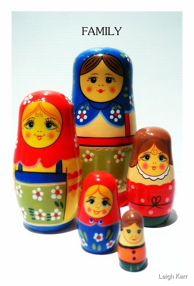 Babooshka family by Leigh Kerr