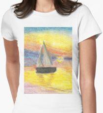 Sunset-Sailboat T-Shirt
